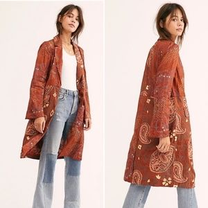 Free People Eye of the Wild Trench Jacket